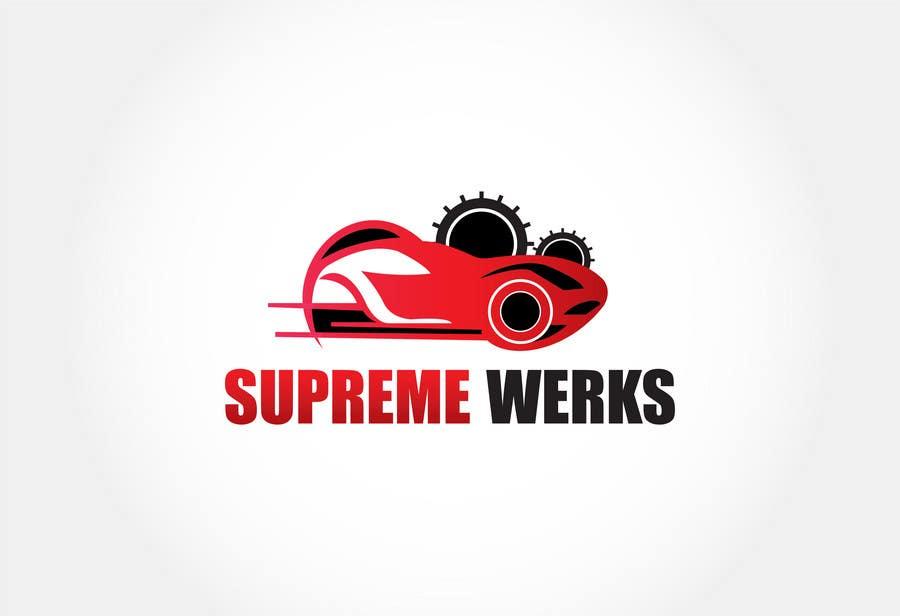 Inscrição nº 148 do Concurso para Logo Design for Supreme Werks (eCommerce Automotive Store)