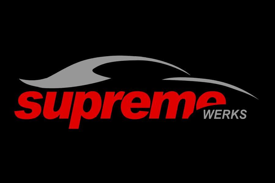 Inscrição nº 235 do Concurso para Logo Design for Supreme Werks (eCommerce Automotive Store)