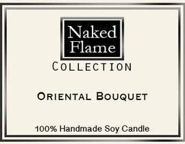 #16 para Design a Logo for Naked Flame Collection to Label Candle Votives -- 2 por arjungurung47