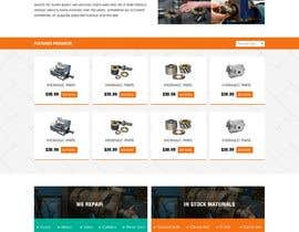 #9 for Website design for a company selling and service Hydraulic parts by webidea12