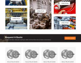#14 for Website design for a company selling and service Hydraulic parts by webamenity