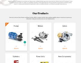 #24 for Website design for a company selling and service Hydraulic parts by webamenity