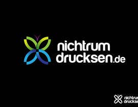 #252 untuk Logo Design for nichtrumdrucksen.de oleh danumdata