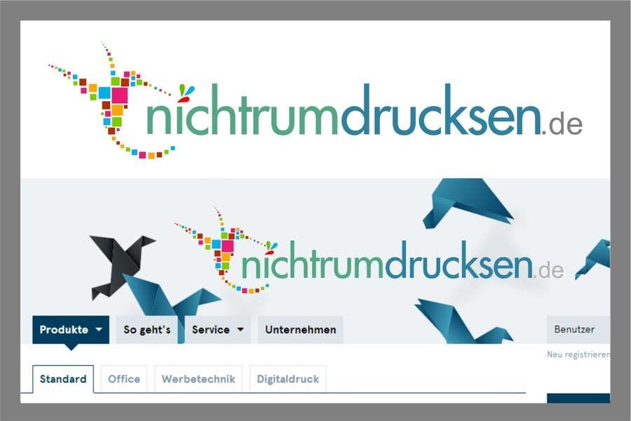 Konkurrenceindlæg #749 for Logo Design for nichtrumdrucksen.de