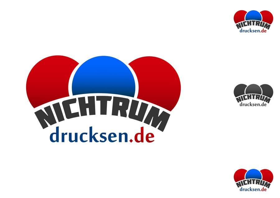 Konkurrenceindlæg #747 for Logo Design for nichtrumdrucksen.de