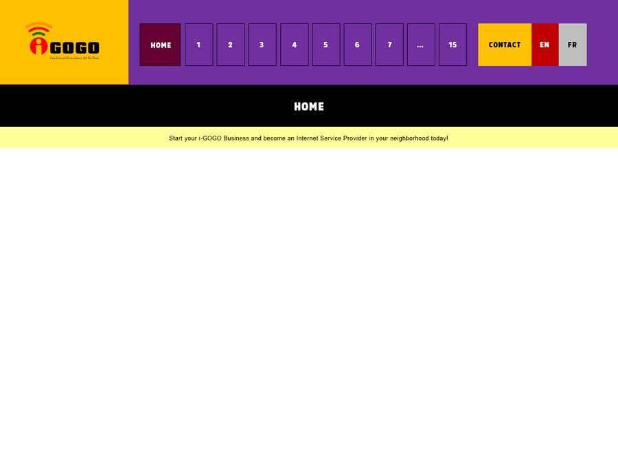 Contest Entry #4 for Design a Website Mockup