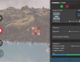 #27 untuk Design a mockup for a industrial camera control app oleh ceankushpayment