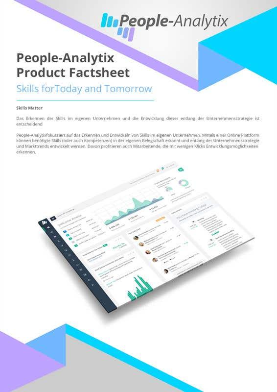 Proposition n°5 du concours Design a Product Brochure/Factsheet