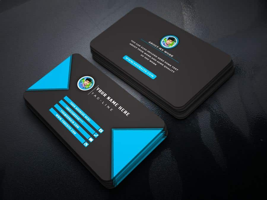 Entry #234 by abdullahbinziad for Business Card for my company ...