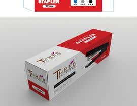 #28 for desktop stapler machine packaging box by nilow