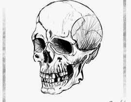 #51 for Illustrate a Skull with a Detail by petroxop