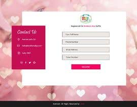 #10 for Design a one page website for a raffle by satishandsurabhi