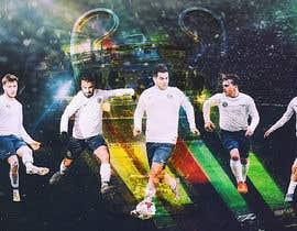 nº 39 pour EASY & SIMPLE:  one football image / banner / poster par kalcin87