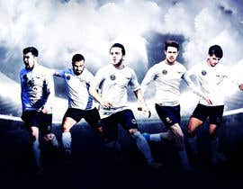 nº 32 pour EASY & SIMPLE:  one football image / banner / poster par khannaeem