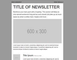 sundarsankaran tarafından Modern Email Marketing Template Design için no 12