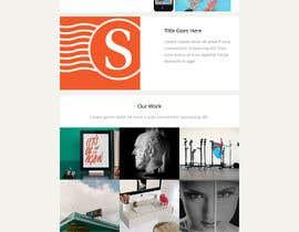 mozala84 tarafından Modern Email Marketing Template Design için no 15