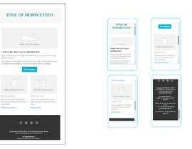 Himelbme tarafından Modern Email Marketing Template Design için no 10