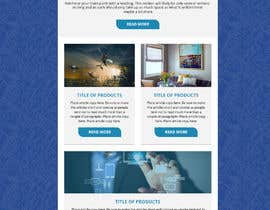 AdoptGraphic tarafından Modern Email Marketing Template Design için no 5