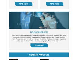 AdoptGraphic tarafından Modern Email Marketing Template Design için no 17