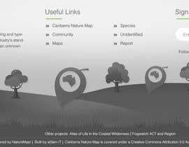Webicules tarafından NatureMapr HTML footer image için no 33