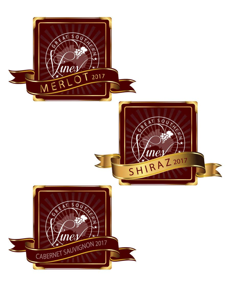 Contest Entry #                                        7                                      for                                         Design our wine label using our logo
