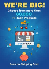 Imagem de                             Design a static banner for ebay ...