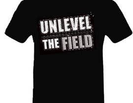#271 para UNLEVEL THE FIELD - Re-Do Graphic for Sports Company por abdolahi