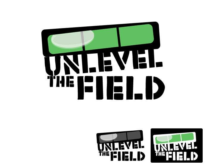 Конкурсная заявка №391 для UNLEVEL THE FIELD - Re-Do Graphic for Sports Company