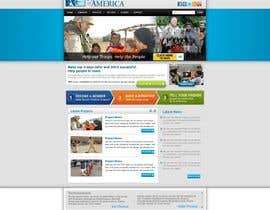 #27 para Website Design for Spirit of America de gaf001