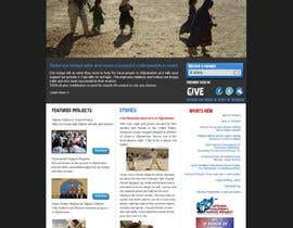 #39 dla Website Design for Spirit of America przez lifeillustrated