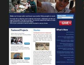 #42 para Website Design for Spirit of America de lifeillustrated