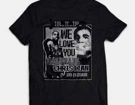 #7 untuk Memorial- R.I.P.'s t-shirts oleh imagencreativajp