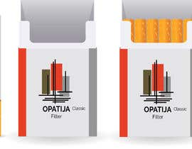 #21 for Cigarette box package by raselhossain0055