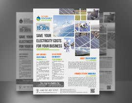 #45 for Design a Flyer for Renewable energy comapny by mdreyad1656