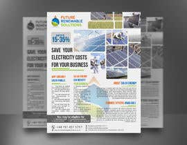 #51 for Design a Flyer for Renewable energy comapny by mdreyad1656