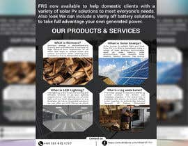 #36 for Design a Flyer for Renewable energy comapny by juthi19972