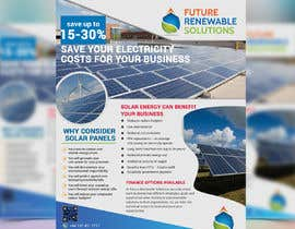 #46 for Design a Flyer for Renewable energy comapny by rasselrana