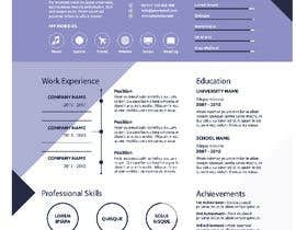 #1 for Create an infographic CV by Slimshafin