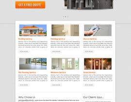 #12 untuk Wordpress Theme Design for Specialized Roofing & Contracting Inc. oleh tania06