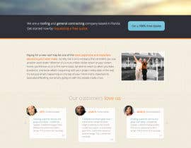 #16 para Wordpress Theme Design for Specialized Roofing & Contracting Inc. por andrewnickell