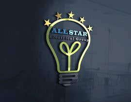 "#32 for I would like a logo designed for an electrical company i am starting, the company is called ""All Star Electrical Group"" i like the colours green and blue with possibly a white background and maybe a gold star somewhere but open to all ideas by vucha"