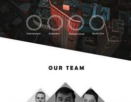 #9 for Design a mock for one page website by engezzomar
