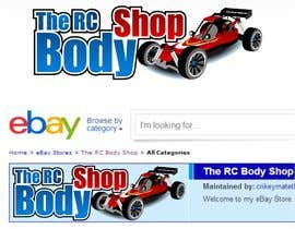 jummachangezi tarafından Logo Design for The RC Body Shop - eBay için no 34