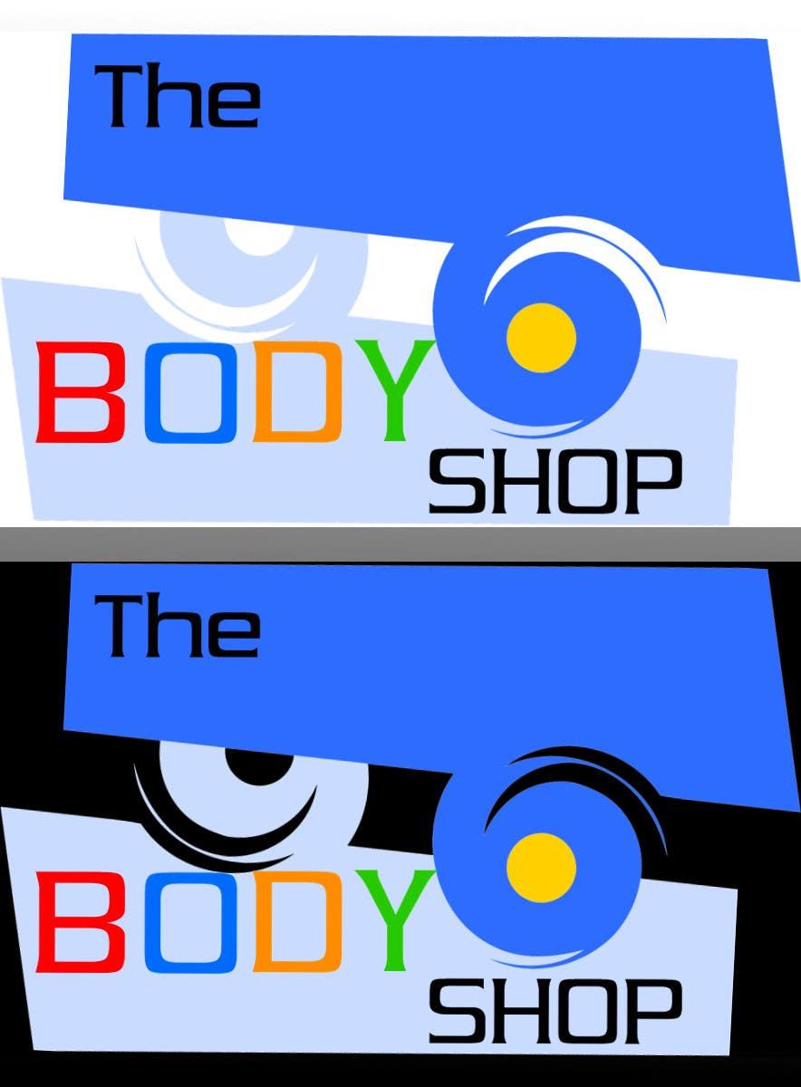 Bài tham dự cuộc thi #                                        9                                      cho                                         Logo Design for The RC Body Shop - eBay