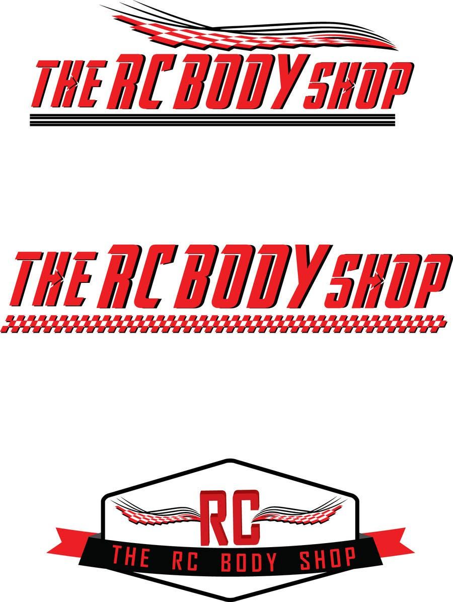 Bài tham dự cuộc thi #                                        13                                      cho                                         Logo Design for The RC Body Shop - eBay