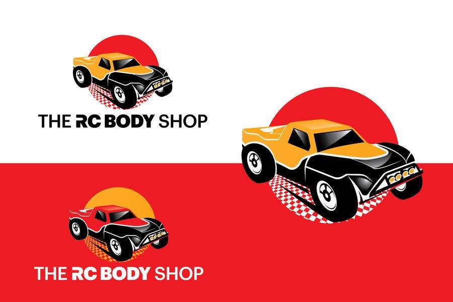 Bài tham dự cuộc thi #                                        62                                      cho                                         Logo Design for The RC Body Shop - eBay