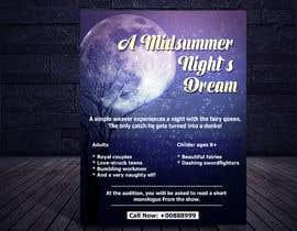 #21 for Midsummer Night's Dream Audition flyer by imrulkayesngr