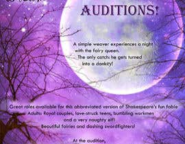 #17 for Midsummer Night's Dream Audition flyer by toririn