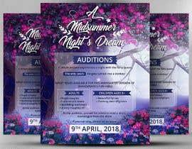 #23 for Midsummer Night's Dream Audition flyer by satishandsurabhi