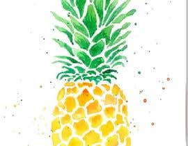 #18 for I need you to make a simple design of a pineapple. It doesnt really need to much detail. Just have a yellow pineapple with a green top (leaves). by dcarolinahv